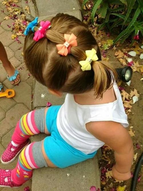 Những kiểu tóc tết đáng yêu cho bé gái đi chơi dịp tết Dương lịch 2018 - Ảnh 4