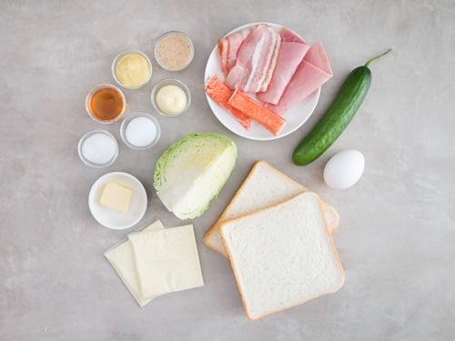 Tự chuẩn bị sandwich kiểu Hàn Quốc cho bữa trưa văn phòng - Ảnh 2