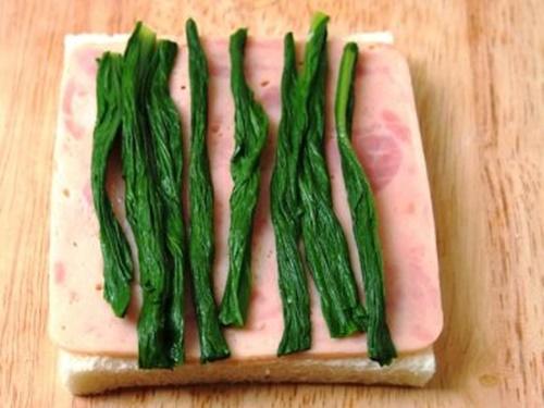 Bánh sandwich cuộn rau trứng – hộp cơm trưa công sở nhiều màu sắc - Ảnh 6