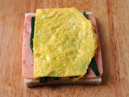 Bánh sandwich cuộn rau trứng – hộp cơm trưa công sở nhiều màu sắc - Ảnh 7
