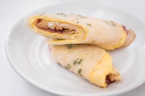 Cách làm bánh kếp hành kiểu Đài Loan vừa nhanh vừa ngon - Ảnh 9