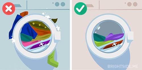 Những sai lầm phổ biến khi sử dụng máy giặt mà bạn nên biết - Ảnh 5