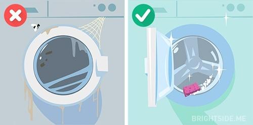 Những sai lầm phổ biến khi sử dụng máy giặt mà bạn nên biết - Ảnh 7