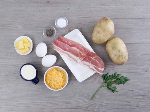 Cùng vào bếp làm khoai tây nướng phô mai trứng ngon tuyệt - Ảnh 2