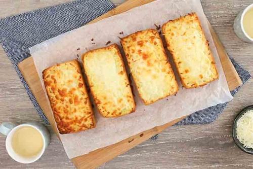 Bánh mì nướng phô mai tỏi – thơm ngon giòn tan  - Ảnh 6