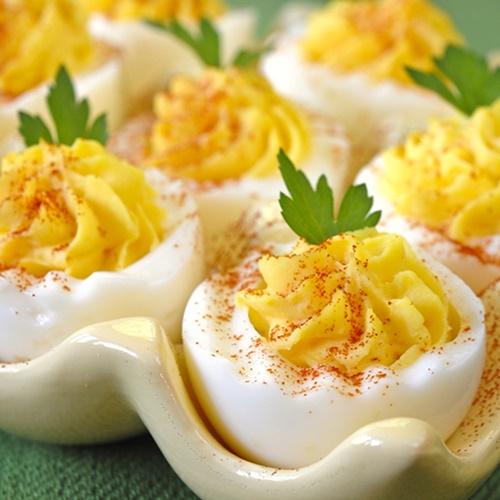 Cách làm trứng nhồi trứng - món khai vị cổ điển cho bữa tiệc buffet - Ảnh 7