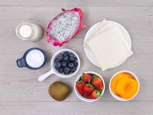 Cách làm bánh sandwich hoa quả cho bữa ăn ngày hè, tốt cho sức khỏe - Ảnh 2