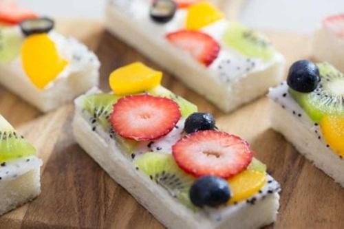 Cách làm bánh sandwich hoa quả cho bữa ăn ngày hè, tốt cho sức khỏe - Ảnh 7