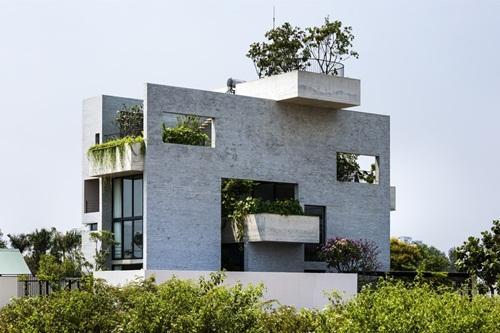 Cận cảnh ngôi nhà Việt lọt top 11 kiến trúc mới ấn tượng nhất hành tinh - Ảnh 1