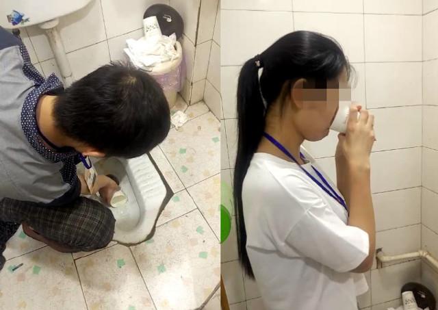 Kinh hoàng cảnh nhân viên bị chủ ép uống nước múc từ bồn cầu - Ảnh 1