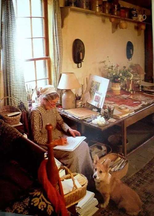 Cuộc sống thần tiên của nữ họa sĩ 92 tuổi  - Ảnh 19