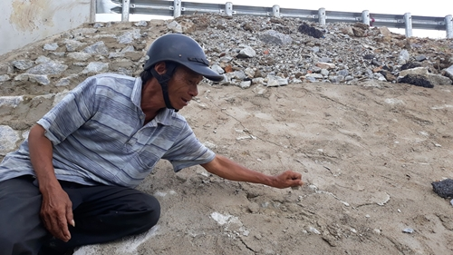 Cao tốc Đà Nẵng - Quảng Ngãi: Người dân tiếp tục chỉ ra nhiều bất cập trong thi công - Ảnh 3