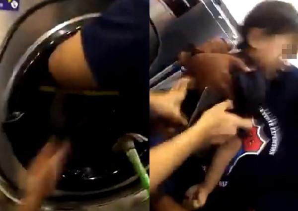 Cậu bé suýt chết vì bị chú ruột nhét vào máy giặt để... chơi - Ảnh 1