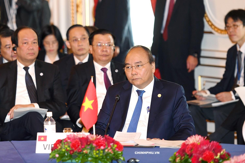 Thủ tướng đề xuất xây dựng Mạng lưới sáng tạo Mekong-Nhật Bản - Ảnh 1