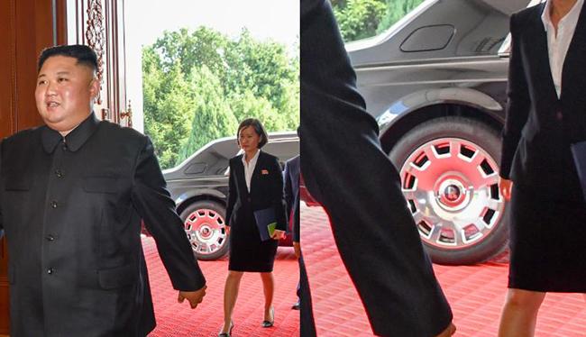 Nhà lãnh đạo Triều Tiên đi xe siêu sang Rolls Royce tới gặp Ngoại trưởng Mỹ - Ảnh 1