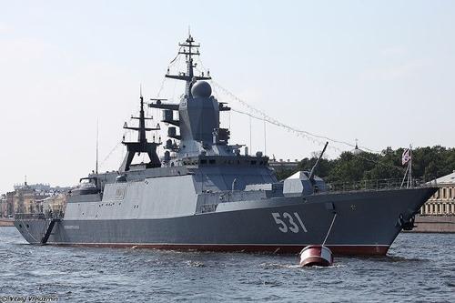 Tàu chiến Nga dùng tên lửa phòng không tiêu diệt tàu ngầm địch - Ảnh 5