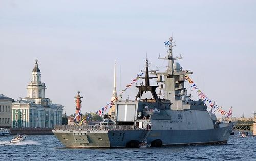 Tàu chiến Nga dùng tên lửa phòng không tiêu diệt tàu ngầm địch - Ảnh 7