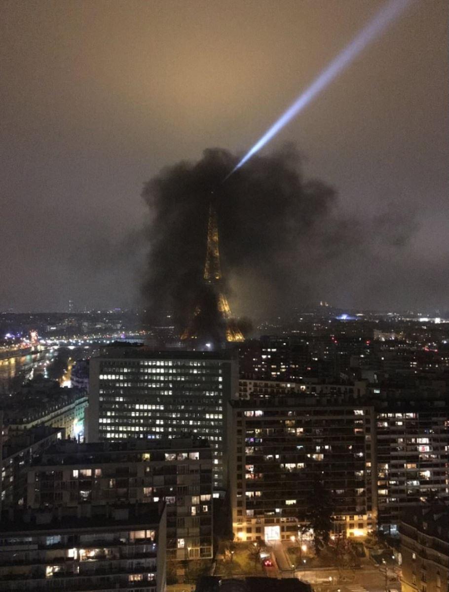 """Bạo loạn """"Áo vàng"""" tại Pháp: Paris chìm trong khói lửa vì bị đốt phá thâu đêm - Ảnh 1"""