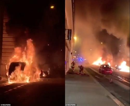 """Bạo loạn """"Áo vàng"""" tại Pháp: Paris chìm trong khói lửa vì bị đốt phá thâu đêm - Ảnh 3"""