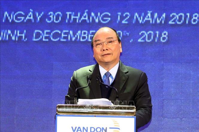 Thủ tướng dự lễ khai trương, thông tuyến 3 dự án hạ tầng trọng điểm tại Quảng Ninh - Ảnh 2