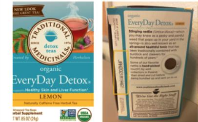 Uống trà chanh thải độc: Cảnh giác với lô hàng nhiễm khuẩn này - Ảnh 1