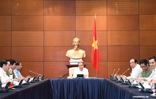 Thủ tướng Nguyễn Xuân Phúc đi kiểm tra công tác chuẩn bị cho hội nghị WEF ASEAN 2018 - Ảnh 7