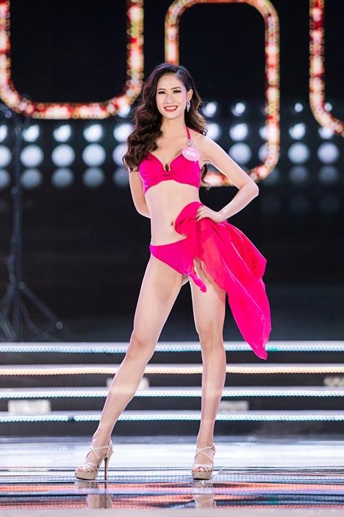 Ngắm vẻ đẹp hình thể của Top 25 Hoa hậu Việt Nam trong màn trình diễn bikini  - Ảnh 7