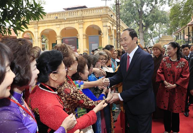 Ninh Bình mãi tự hào về người con ưu tú - Chủ tịch nước Trần Đại Quang - Ảnh 1