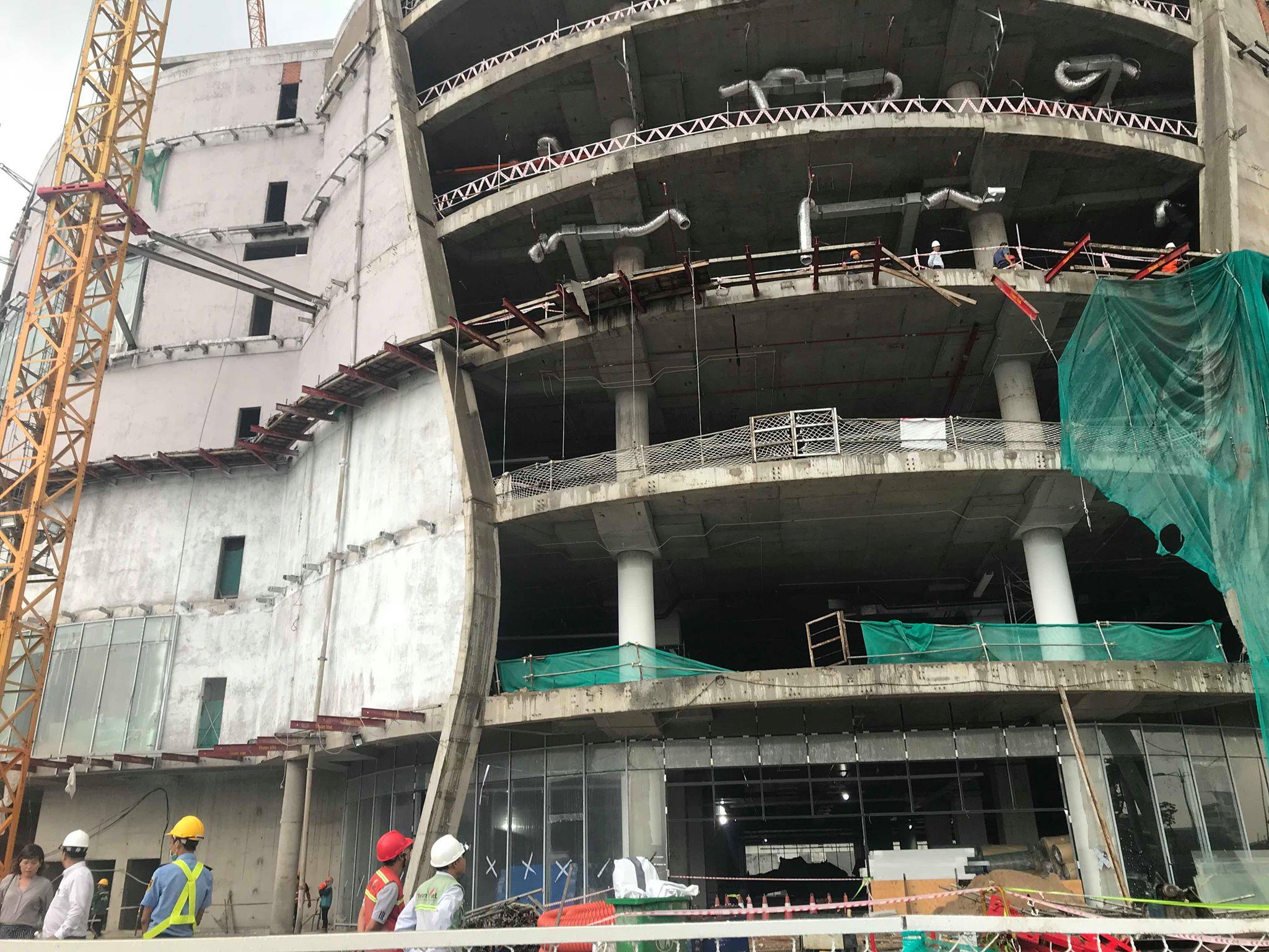 Hé lộ tình tiết bất ngờ vụ 3 công nhân rơi từ công trình cao tầng xuống đất - Ảnh 2