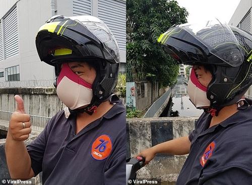"""Người dân Bangkok """"chế"""" khẩu trang đặc biệt trong những ngày ô nhiễm không khí trầm trọng - Ảnh 2"""