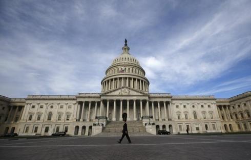 Thượng viện Mỹ bỏ phiếu đề xuất mở cửa lại chính phủ - Ảnh 1
