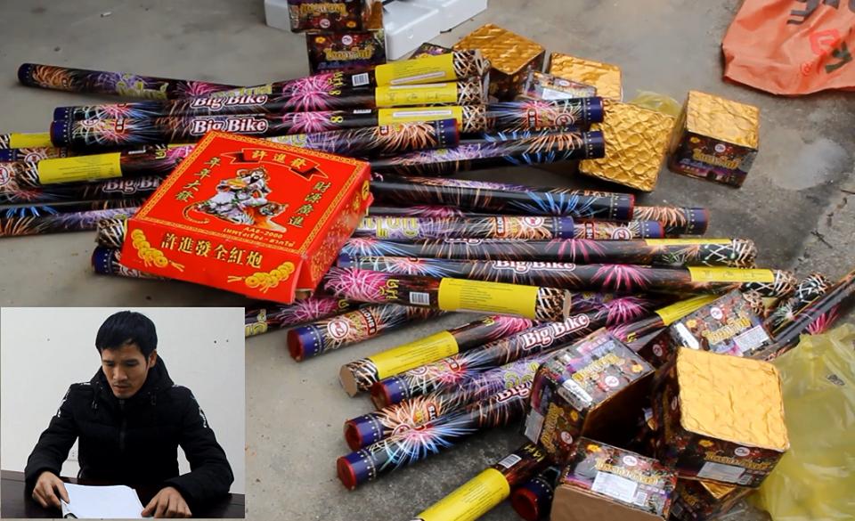 Nghệ An: Thu giữ hơn 50 kg pháo lậu các loại đang trên đường vận chuyển - Ảnh 2