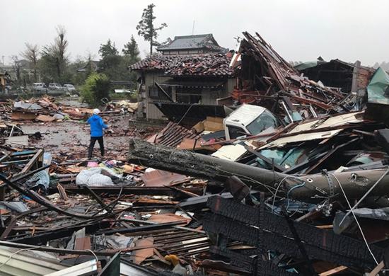 Siêu bão Hagibis tàn phá Nhật Bản khiến ít nhất 11 người chết - Ảnh 2