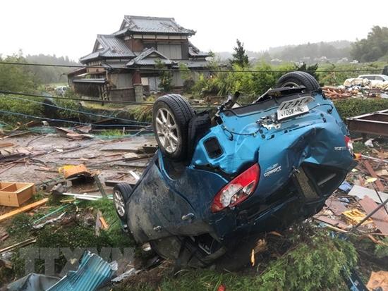 Siêu bão Hagibis tàn phá Nhật Bản khiến ít nhất 11 người chết - Ảnh 6