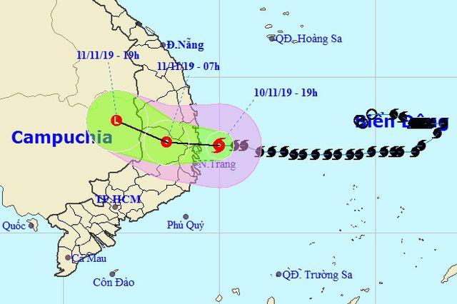 Bão số 6 suy yếu thành áp thấp nhiệt đới, mưa lớn ở nhiều nơi - Ảnh 1