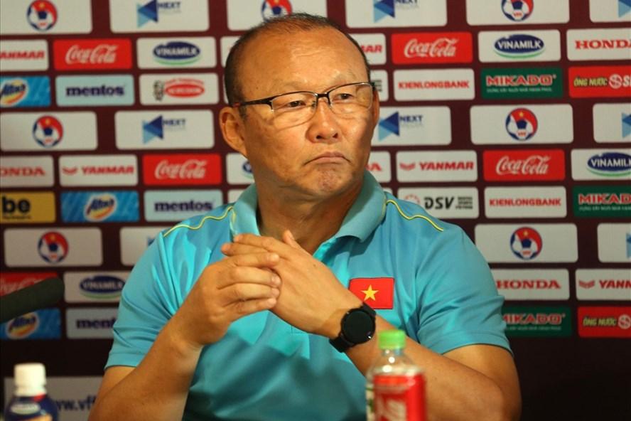 HLV Park Hang Seo không hài lòng với kết quả Việt Nam hòa Thái Lan - Ảnh 1
