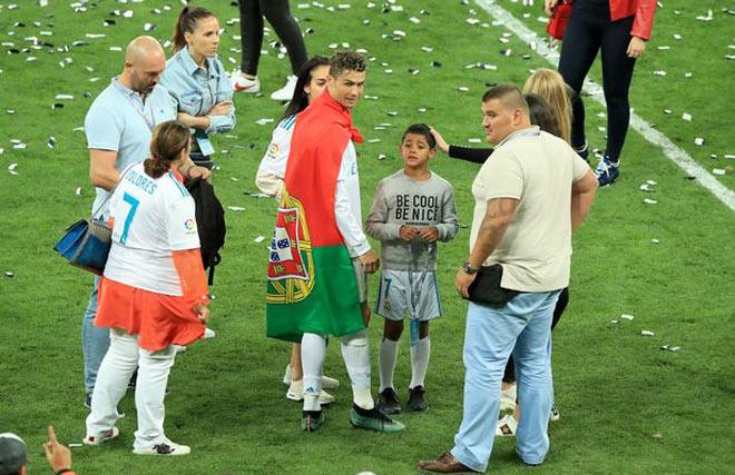 Để làm vệ sĩ cho C.Ronaldo, cần đạt những tiêu chuẩn gì? - Ảnh 2