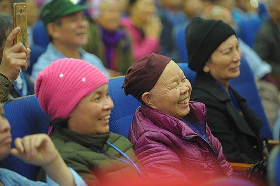 Những nụ cười ở Bệnh viện K Tân Triều - Ảnh 4