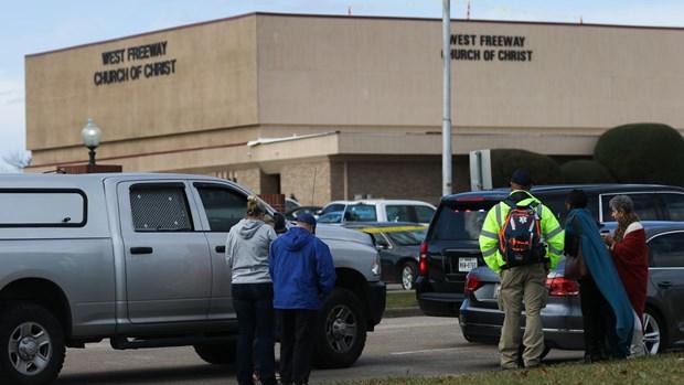 Mỹ: Xả súng kinh hoàng tại nhà thờ ở Texas, 5 người thương vong - Ảnh 1