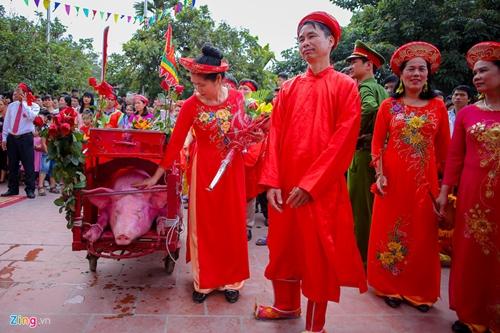 Làng Ném Thượng vẫn tổ chức nghi lễ chém lợn năm Kỷ Hợi 2019 dù kín đáo hơn - Ảnh 3