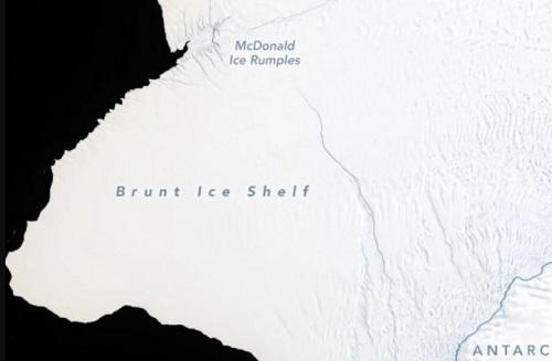Cảnh báo băng trôi khổng lồ, lớn gấp đôi New York sắp xuất hiện ở Nam Cực - Ảnh 1