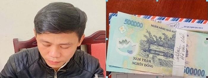 Thanh Hóa: Bắt đối tượng tự xưng phóng viên, tống tiền doanh nghiệp 50 triệu đồng - Ảnh 2