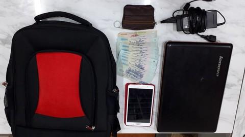 """TP HCM: Mang tài sản ngủ trong công viên, người đàn ông bị trộm """"ghé thăm"""" - Ảnh 2"""