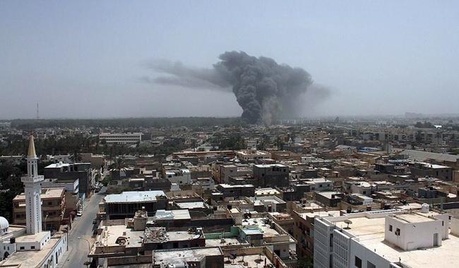 Xung đột leo thang, nguy cơ khủng hoảng nhân đạo ở Libya - Ảnh 1