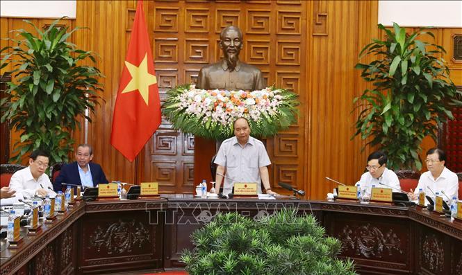 Thường trực Chính phủ họp xem xét việc triển khai Luật Quy hoạch - Ảnh 1