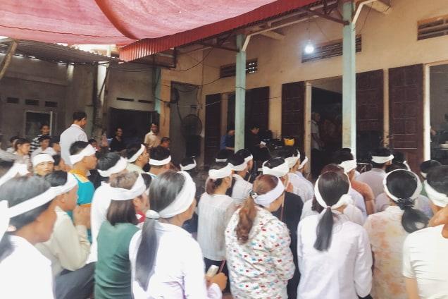 Cháy nhà xưởng 8 người chết ở Trung Văn: Nước mắt tang thương bao trùm xóm nhỏ - Ảnh 2