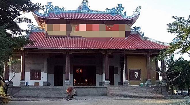 Đối tượng chém trọng thương sư trụ trì ở Quảng Nam nghi bị tâm thần - Ảnh 1