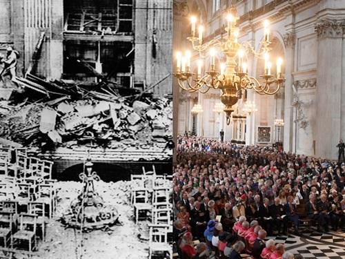 7 kiến trúc nổi tiếng thế giới đã được xây dựng lại sau khi bị khá hủy hoàn toàn - Ảnh 4