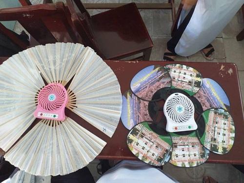1001 cách sáng tạo ra gió mát của học sinh mùa thi - Ảnh 4