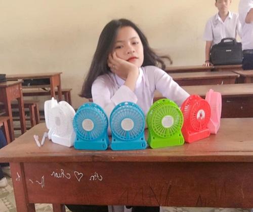1001 cách sáng tạo ra gió mát của học sinh mùa thi - Ảnh 8